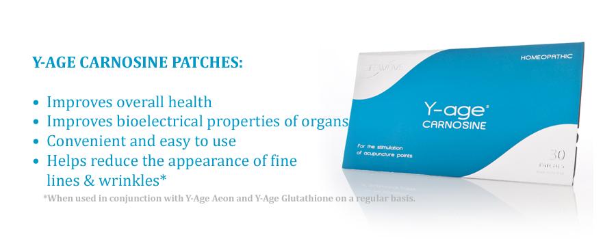 Y-Age Carnosine Patches